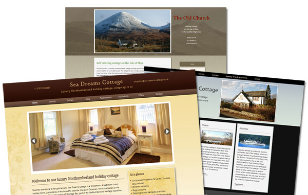business website design offers esp for holiday websites cottage apartment villa guest house in the uk and europe