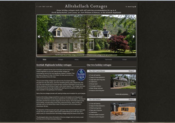 UK holiday cottage website