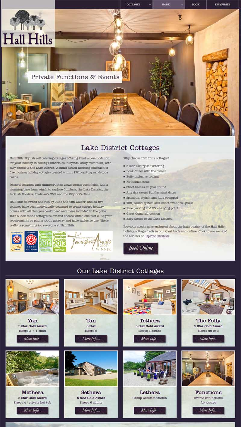 Luxury Lake District cottages